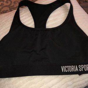 Victoria sport black sports bra